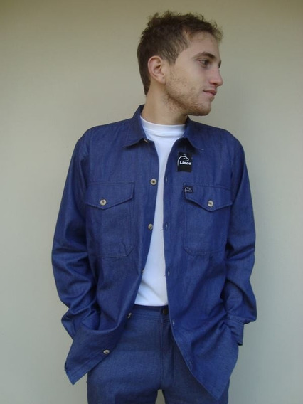 Camisa De Jean Hombre - Linco - Safety & Comfort L- Xl-xxl
