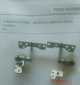 Dobradiças Notebook Samsung Rv410/ R440/ Np-r430 (par)