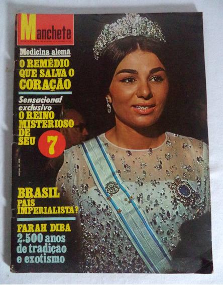 Revista Manchete N°1.018 Farah Diba Irã
