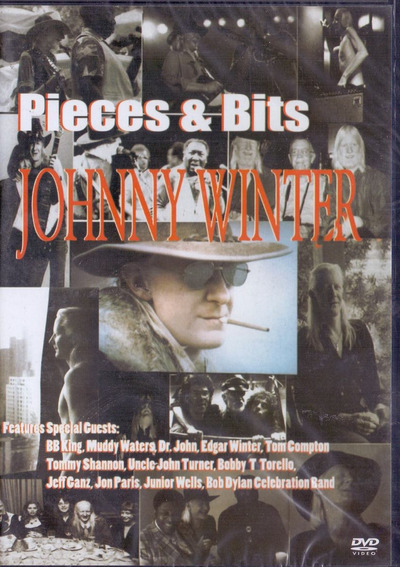 Dvd Johnny Winter - Pieces & Bits - Novo***