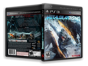 Metal Gear Rising Revengeance - Playstation 3 Novo
