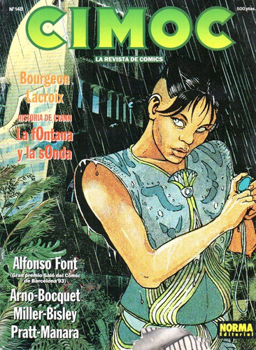Revista Cimoc 148 - Hugo Pratt Manara El Gaucho - Sin City