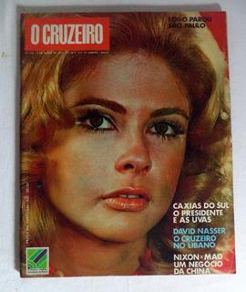 Revista O Cruzeiro N°10 1972 Maria Cláudia