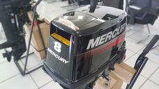Motor De Popa Mercury 8.0 Hp 2 Tempos - Novo 2017 + Brinde