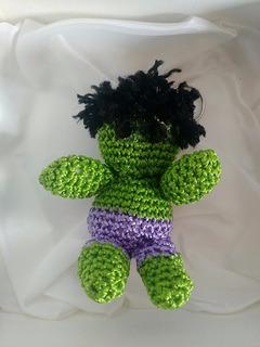 Chaveiro De Crochê Hulk - Artegeek
