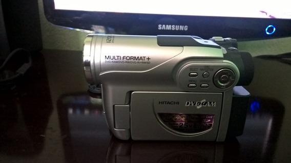 Camera Filmadora Hitachi Dvd Cam Dz-bx35e Grava Em Dvd