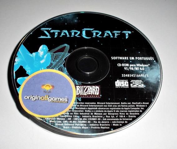 Starcraft Estratégia ¦ Jogo Pc Original Usado ¦ Mídia Física