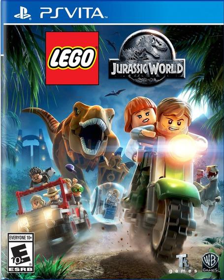Lego Jurassic World (português) - Ps Vita / Psv - M. Física