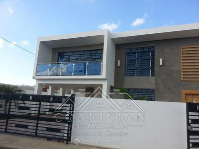 Coalicion Vende Casa Nueva 500 Mts2 Con Piscina Proy Cerrado