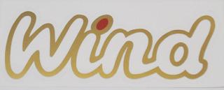 Adesivo Wind Dourado / Vermelho +brinde