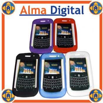 2x Forro Silicon Blackberry Bold 9000 Estuche Protector Goma