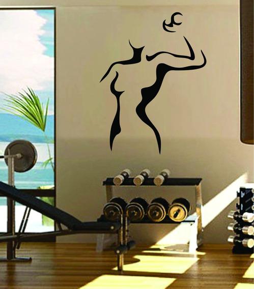 Adesivo De Parede Academia Fitness Musculação Crossfit