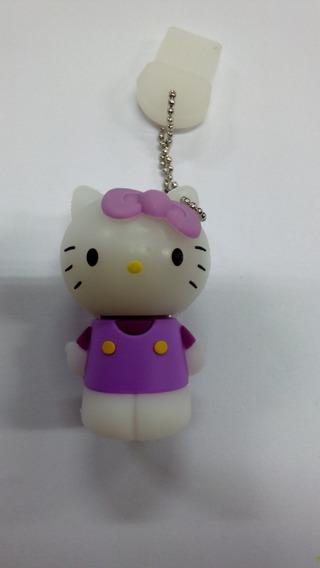 Pen Drive 8gb Hello Kitty Roxa