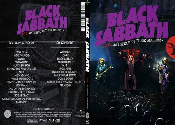 Cd E Dvd Black Sabbath - Live...gathered In Their Masses