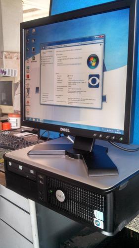 Dell Optiplex 755 4 Gb + Hd 250gb + Monitor  17  Dell + Wifi