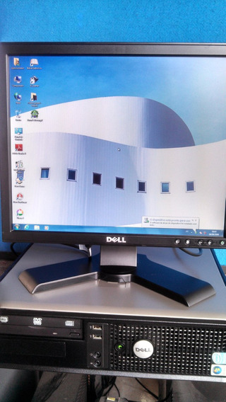 Dell Optiplex 755 2 Gb + Hd 250gb + Monitor 17 Dell + Wifi