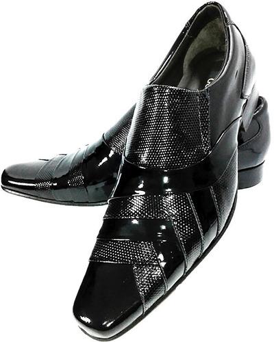 a737358ecd sapato social couro verniz promoção outlet dhl calçados. Carregando zoom.
