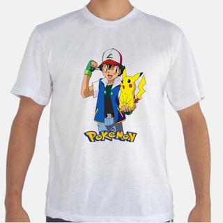 Camiseta Pokémon, Desenho, Anime