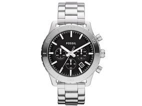 Relógio Fossil Masculino Keaton Cronografo Fch2814z Aço