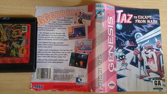 Taz In Escape From Mars Mega Drive - Original