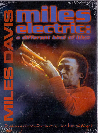 Dvd Miles Electric: - A Different Kind Of Blue - Novo***