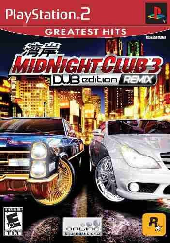 Midnight Club Dub Edition Remix - Ps2 ( Playstation 2 )