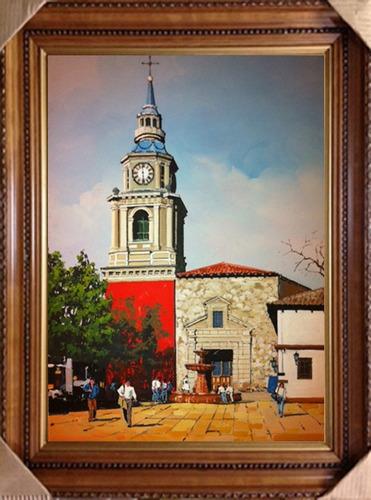 Maestro De La Pintura Chilena Ernesto Romero Med. 46 X 66