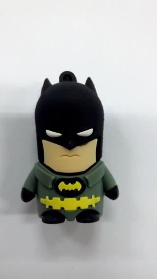 Pen Drive 8gb Batman Dc Comics Morcego Frete Grátis
