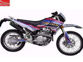 Moto Qingqi Qm200gy Color Negra, Rojo Azul. Amar.bl Año 2016