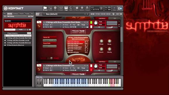 Symphobia 1,2,3 Lumina+orchestral Essential Kontakt Win/mac