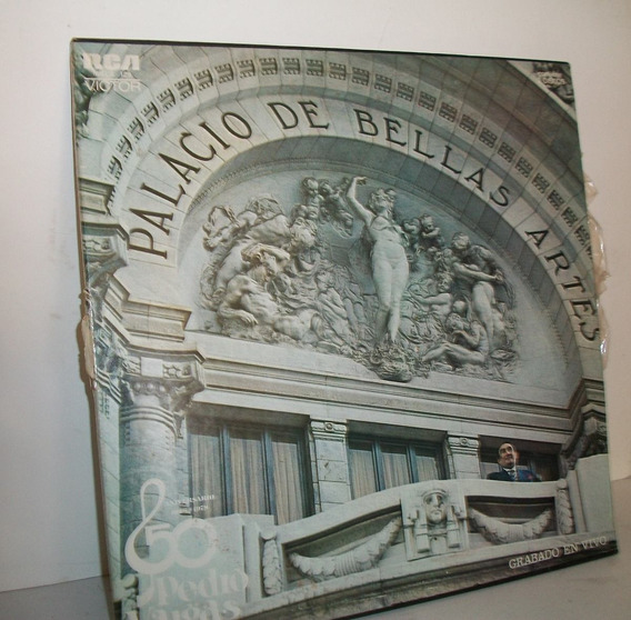 Album De 3 Discos De Pedro Vargas En Bellas Artes