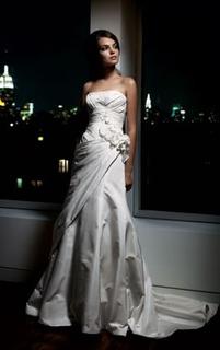 Vestido De Noiva-estilista Priscilla Of Boston (ny) + Sapato