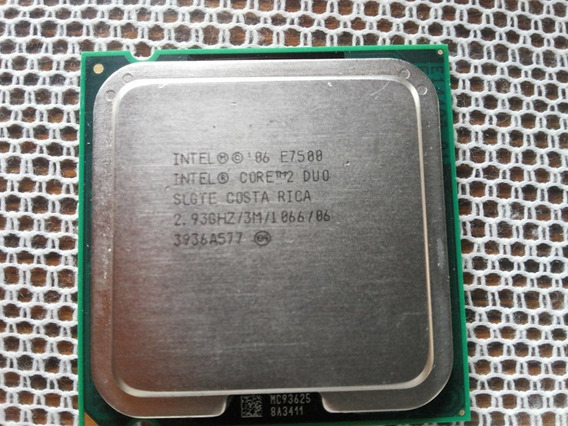 Intel Core 2 Duo E7500 2.93ghz 3m 1066mhz Socket 775