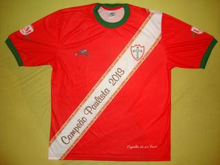 Camisa - Portuguesa Desportos - Lusa - São Paulo - Futebol