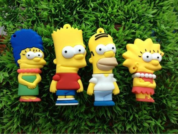 Pen Drive 8gb Os Simpsons Novos Modelos