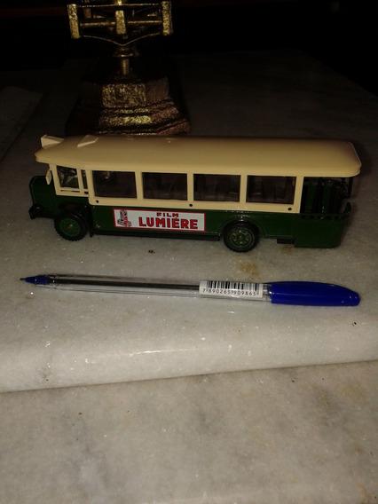 Ônibus De Brinquedo 18x4,5x5 Cm