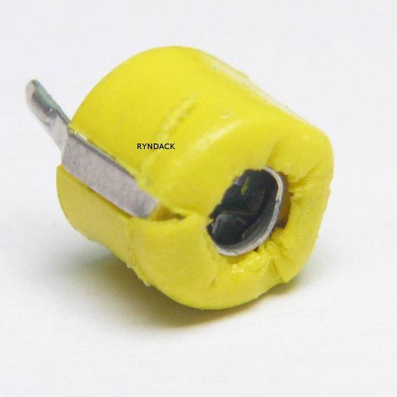 20 Peças * Capacitor Variável Trimmer Amarelo 40pf