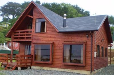 Casas Americanas Cabañas Prefabricadas De Madera En 60 Dias