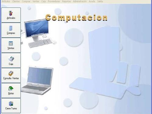 Programa Sistema Control Gestión Administración.