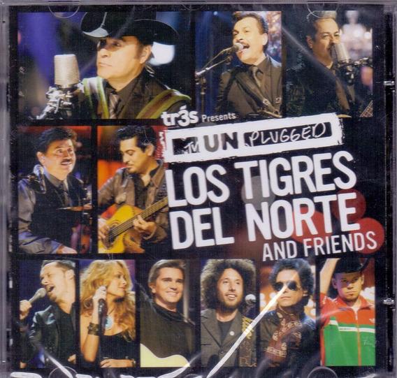 Cd Los Tigres Del Norte - Ans Friends Mtv Unplugged -novo***