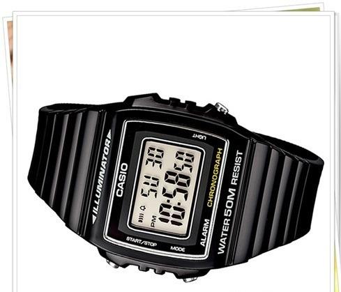 Relógio Casio W-215h-1av Digital Unissex Original Luz Led