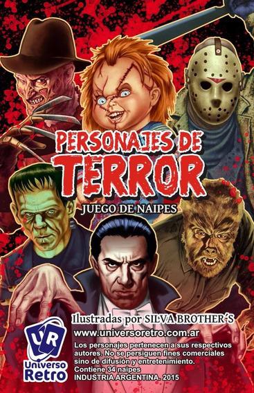 Cartas Cine Terror Jason Freddy Universo Retro It Chucky