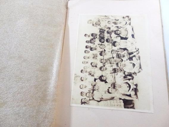 Antigo Album De Formatura Anos 50!! Fotografia Rara