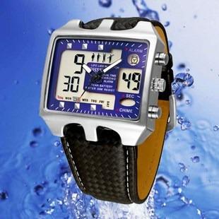 Reloj Deportivo 100% Original Azul Para Nadar O Snorkel