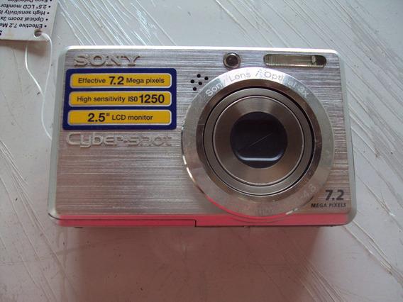 Camera Digital Sony Com Defeito Para Retirar Pecas