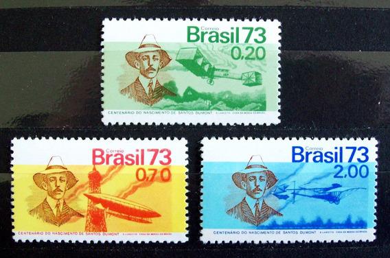 Brasil - Serie Yv. 1041-43 100 Aniv S Dumont Mint L3716