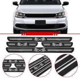 Soleira De Porta Universal 4 Portas Volkswagen Gol Polo Up