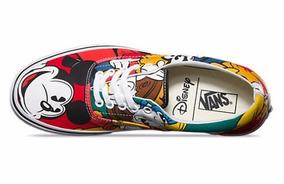 Tênis Vans Disney Raro Mickey And Friends 35 40