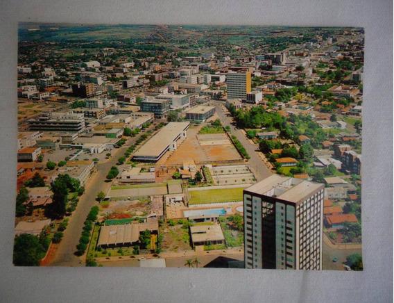Cartão Postal Cascavel Paraná Vista Aérea