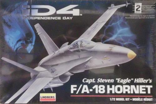 F/a-18 Hornet, Id4 Kit Plástico 1/72 Lindberg Usa.